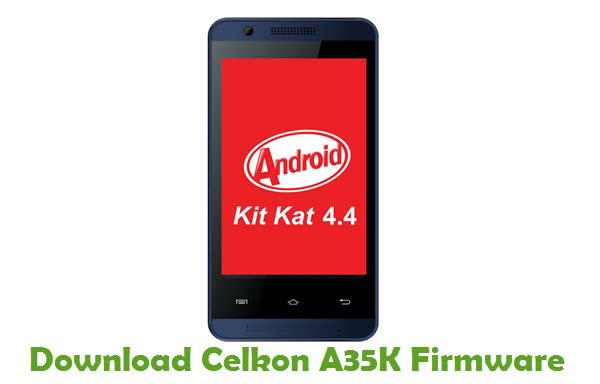 Download Celkon A35K Firmware
