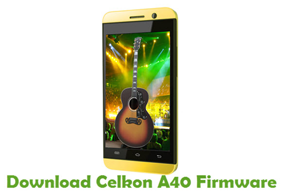 Download Celkon A40 Stock ROM