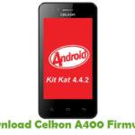 Celkon A400 Firmware