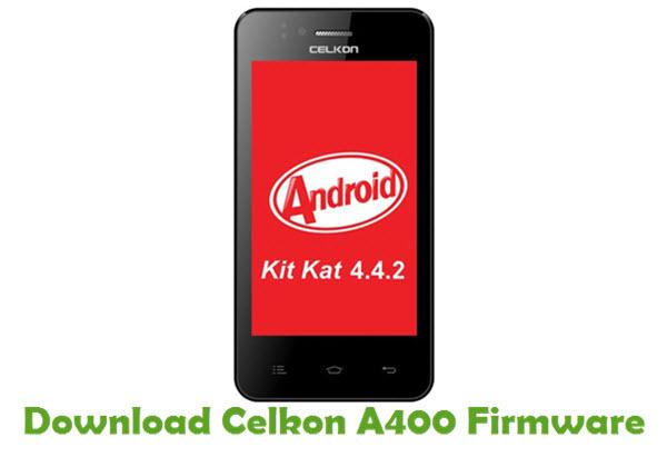 Download Celkon A400 Firmware