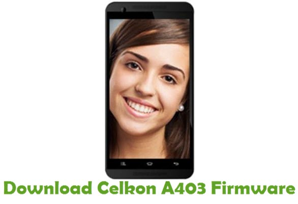Download Celkon A403 Firmware