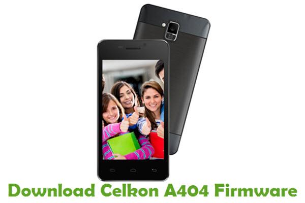 Download Celkon A404 Firmware