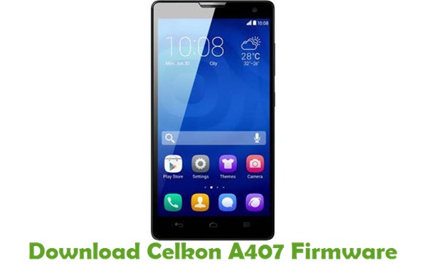 Download Celkon A407 Firmware