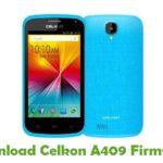 Celkon A409 Firmware