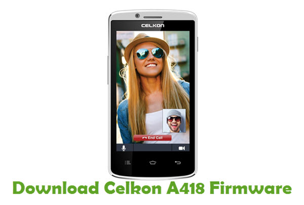 Download Celkon A418 Stock ROM