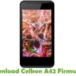 Celkon A42 Firmware