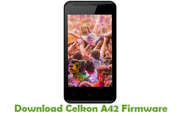Download Celkon A42 Firmware