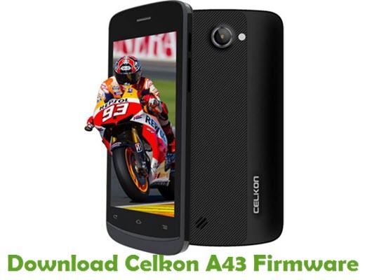 Download Celkon A43 Firmware