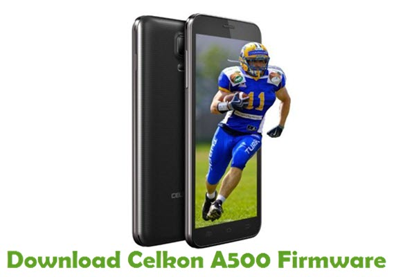 Download Celkon A500 Firmware