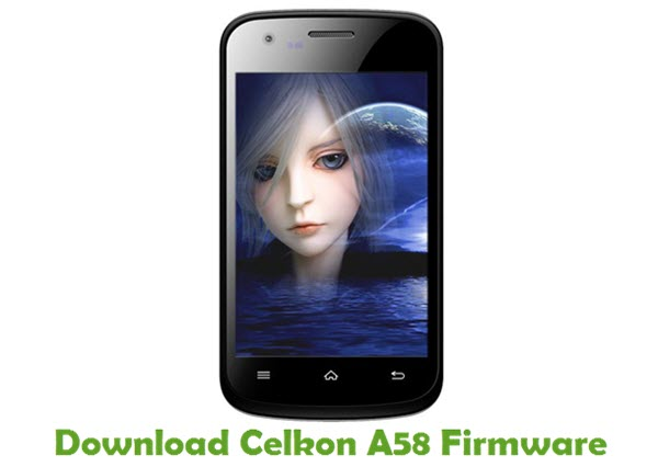Download Celkon A58 Firmware
