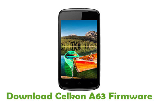 Download Celkon A63 Firmware
