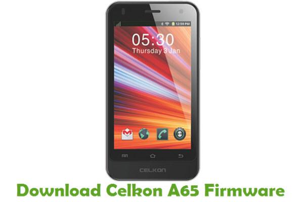 Download Celkon A65 Firmware