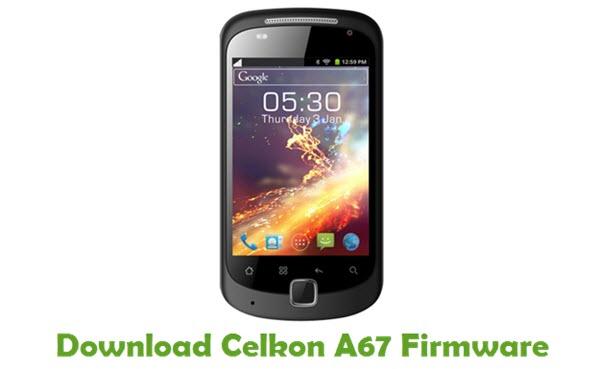 Download Celkon A67 Firmware