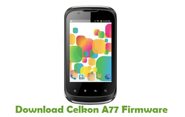 Download Celkon A77 Firmware