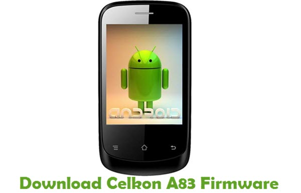 Download Celkon A83 Firmware