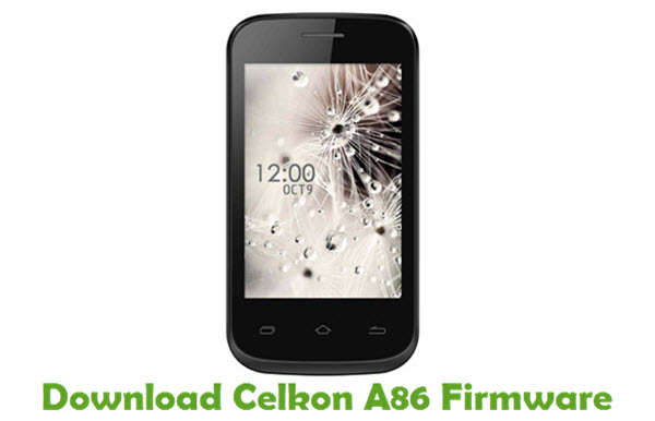 Download Celkon A86 Firmware