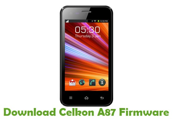 Download Celkon A87 Stock ROM