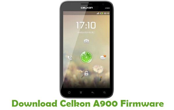 Download Celkon A900 Firmware