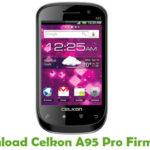 Celkon A95 Pro Firmware