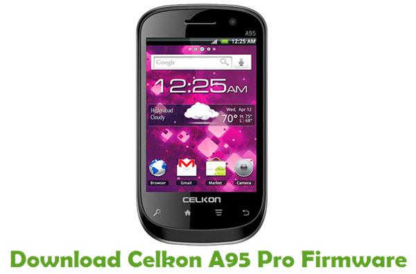 Download Celkon A95 Pro Firmware