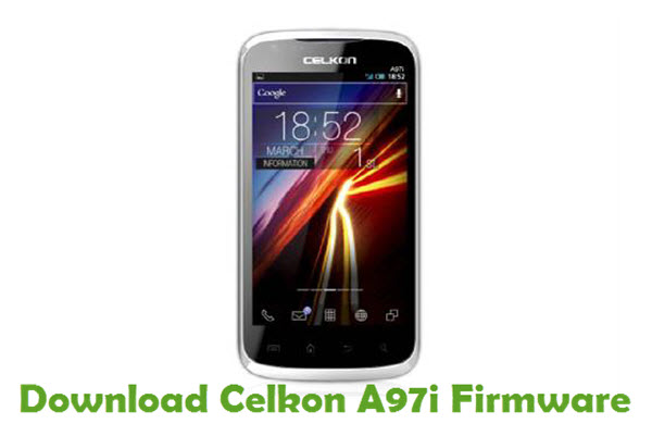 Download Celkon A97i Stock ROM