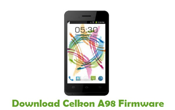 Download Celkon A98 Firmware