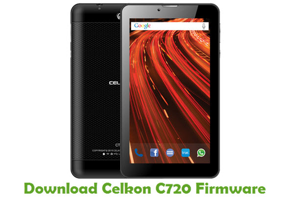 Download Celkon C720 Stock ROM