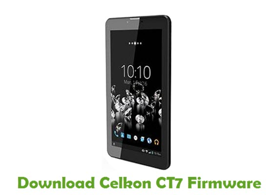 Download Celkon CT7 Firmware