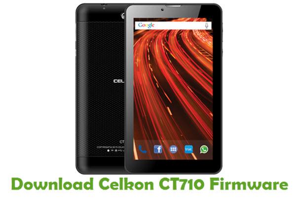 Download Celkon CT710 Stock ROM
