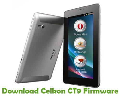 Download Celkon CT9 Firmware