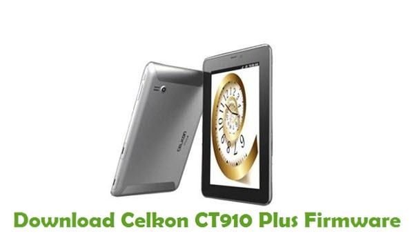 Download Celkon CT910 Plus Firmware