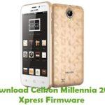 Celkon Millennia 2GB Xpress Firmware