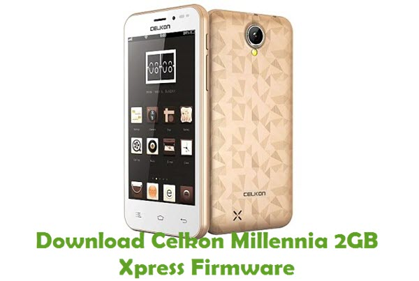 Download Celkon Millenia 2GB Xpress Firmware