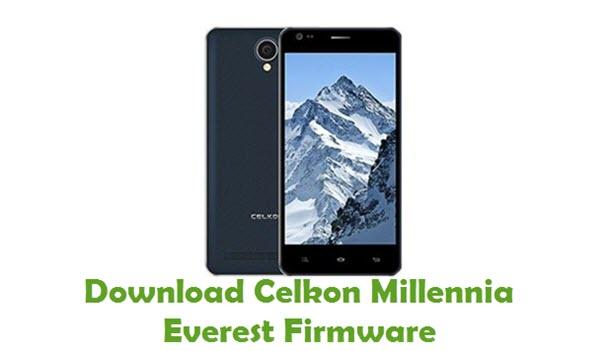 Download Celkon Millennia Everest Firmware
