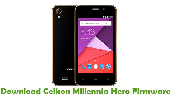 Download Celkon Millennia Hero Firmware