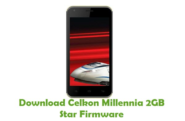 Download Celkon Millennia 2GB Star Firmware