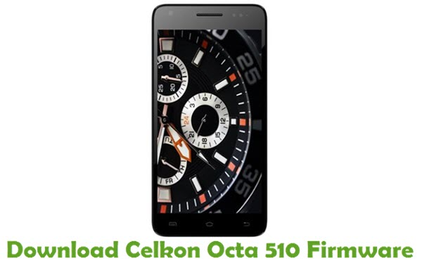 Download Celkon Octa 510 Firmware