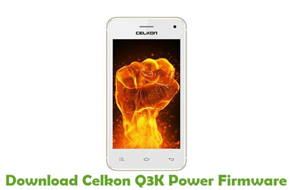 Download Celkon Q3K Power Firmware