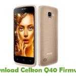 Celkon Q40 Firmware