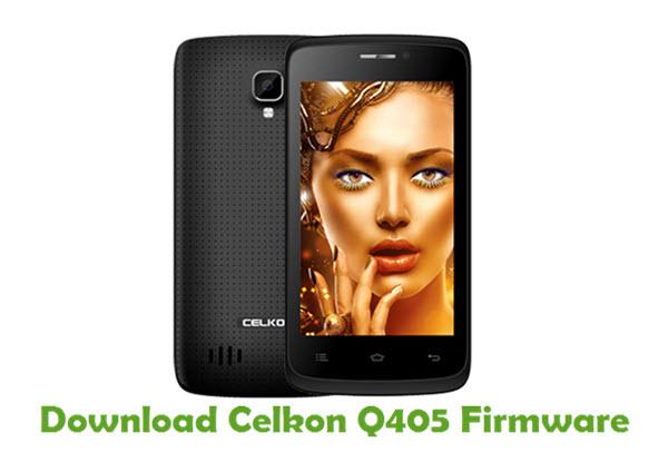 Download Celkon Q405 Firmware