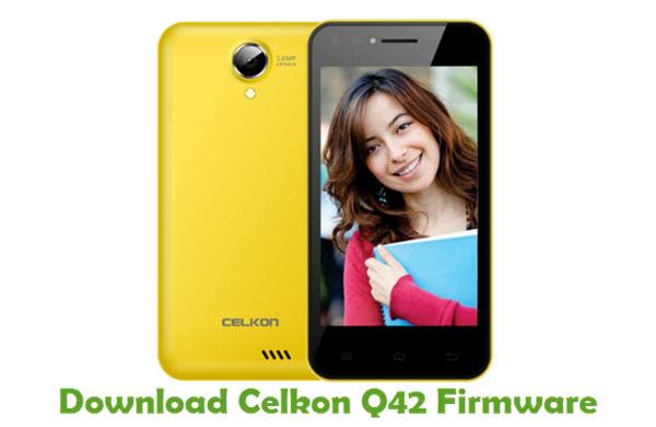 Download Celkon Q42 Firmware