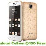 Celkon Q450 Firmware