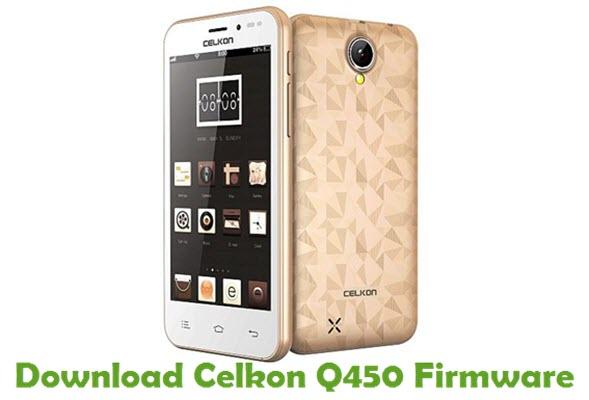 Download Celkon Q450 Firmware