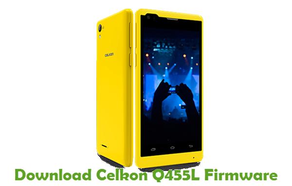 Download Celkon Q455L Firmware