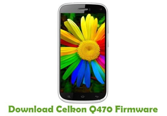 Download Celkon Q470 Firmware