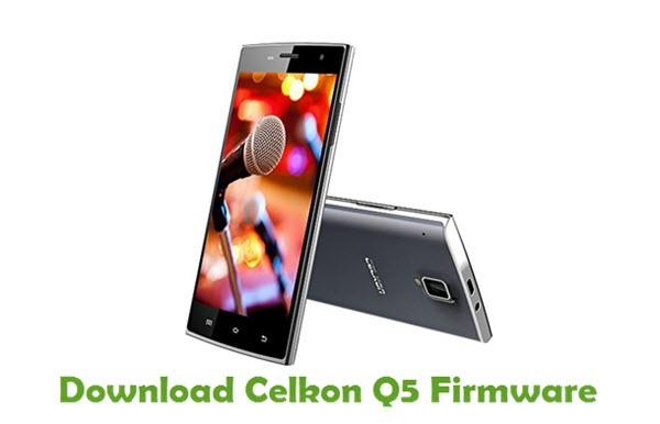Download Celkon Q5 Firmware
