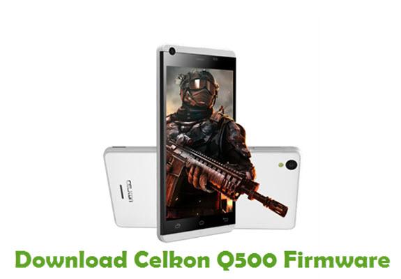 Download Celkon Q500 Firmware
