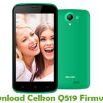 Celkon Q519 Firmware