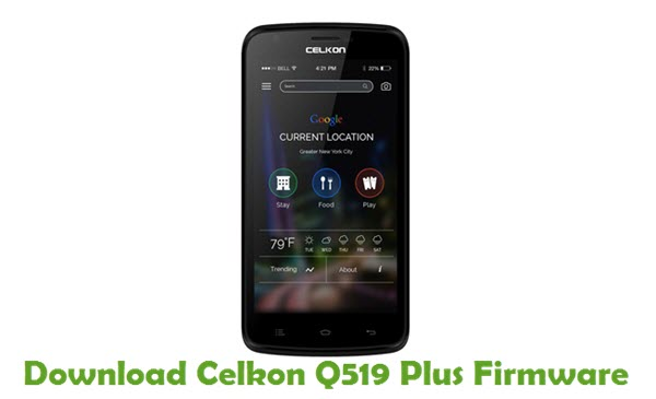 Download Celkon Q519 Plus Firmware