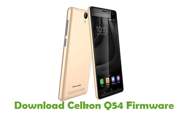 Download Celkon Q54 Firmware